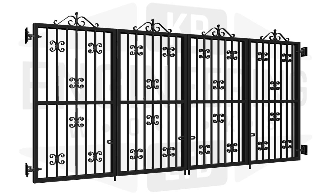 PIMLICO Bi-Fold Tall Gate