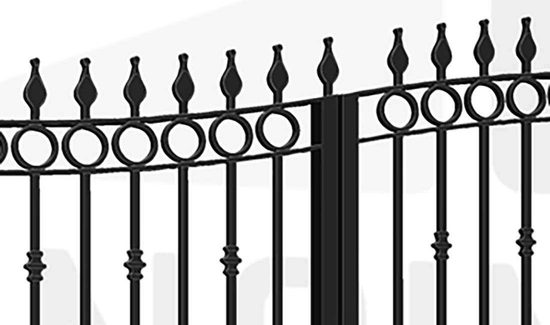 PADDINGTON Bi-Fold Tall Gate