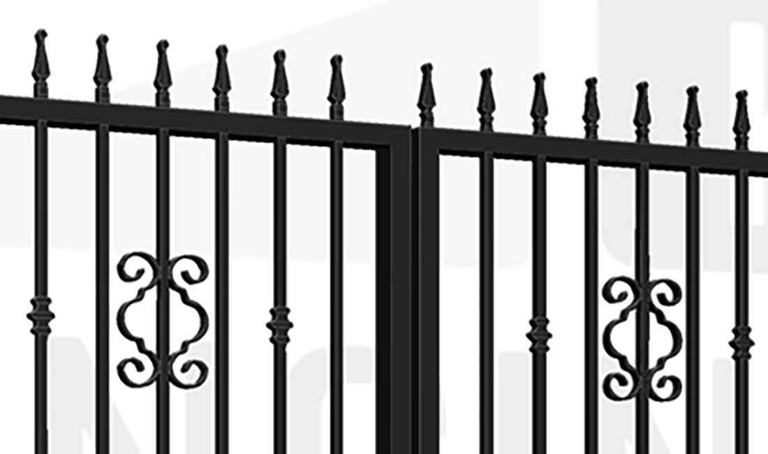 REGENT'S PARK Bi-Fold Tall Gate