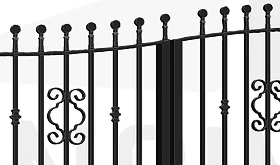 WESTMINSTER Bi-Fold Tall Gate