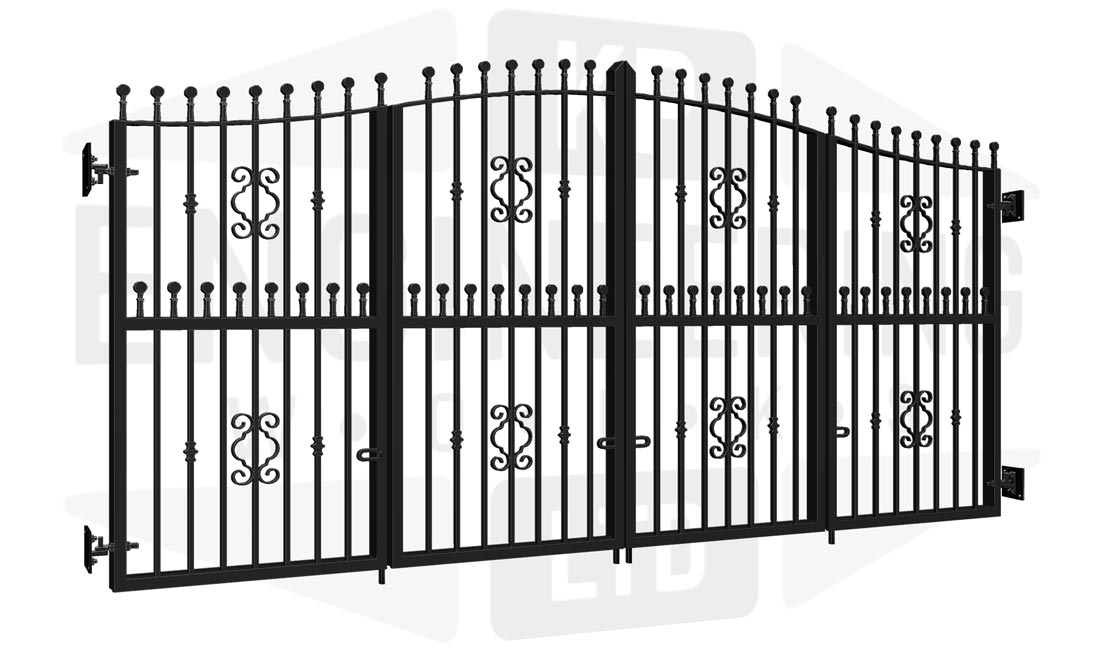 WESTMINSTER Bi-Fold Tall Gate