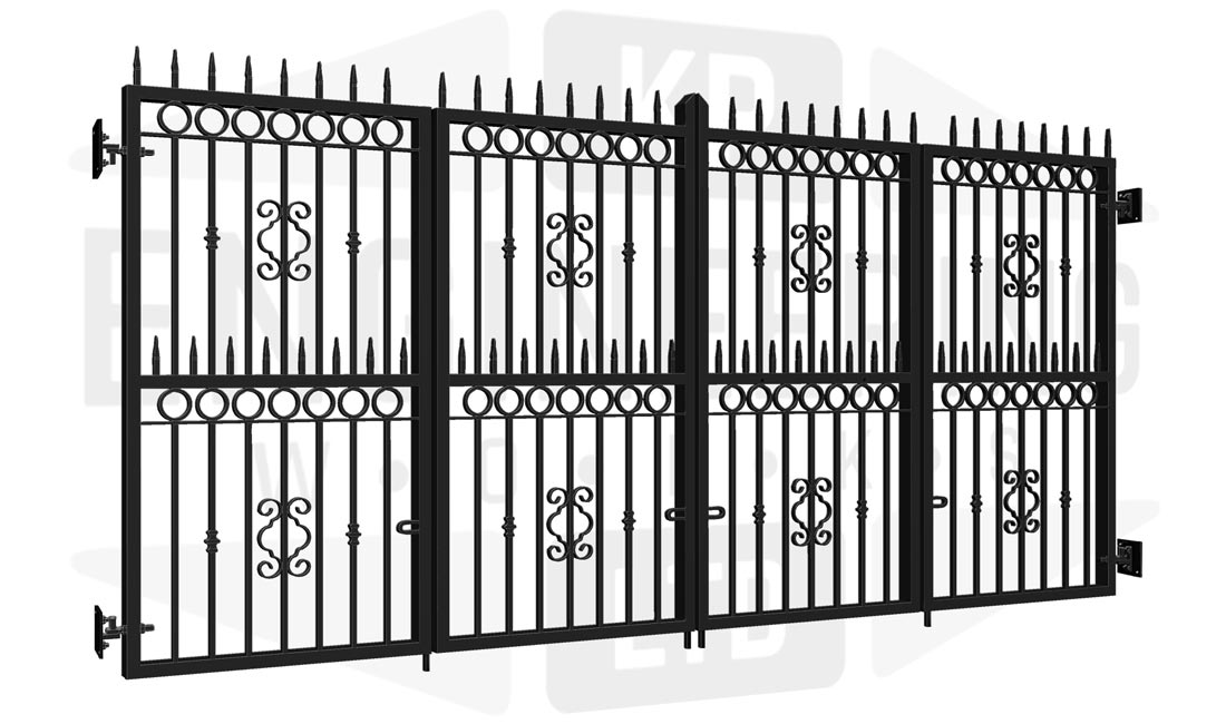 BELMONT Bi-Fold Tall Gate