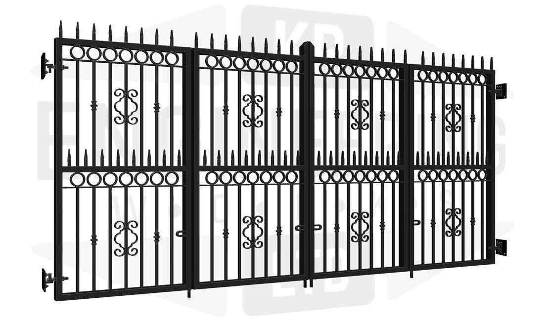 BELMONT Bi-Fold Tall Gate