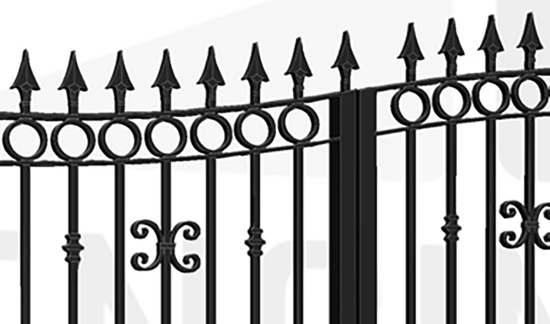 HYDE PARK Bi-Fold Tall Gate