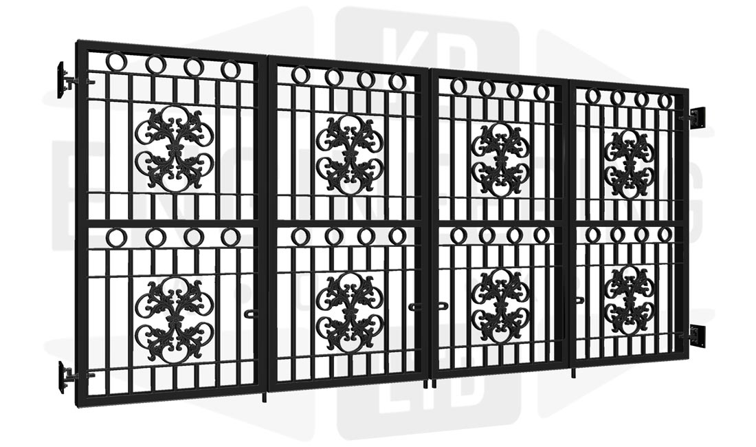 PARK ROYAL Bi-Fold Tall Gate