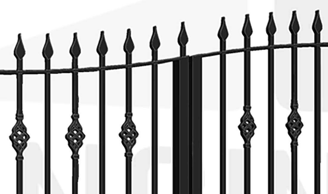 TEMPLE Bi-Fold Tall Gate