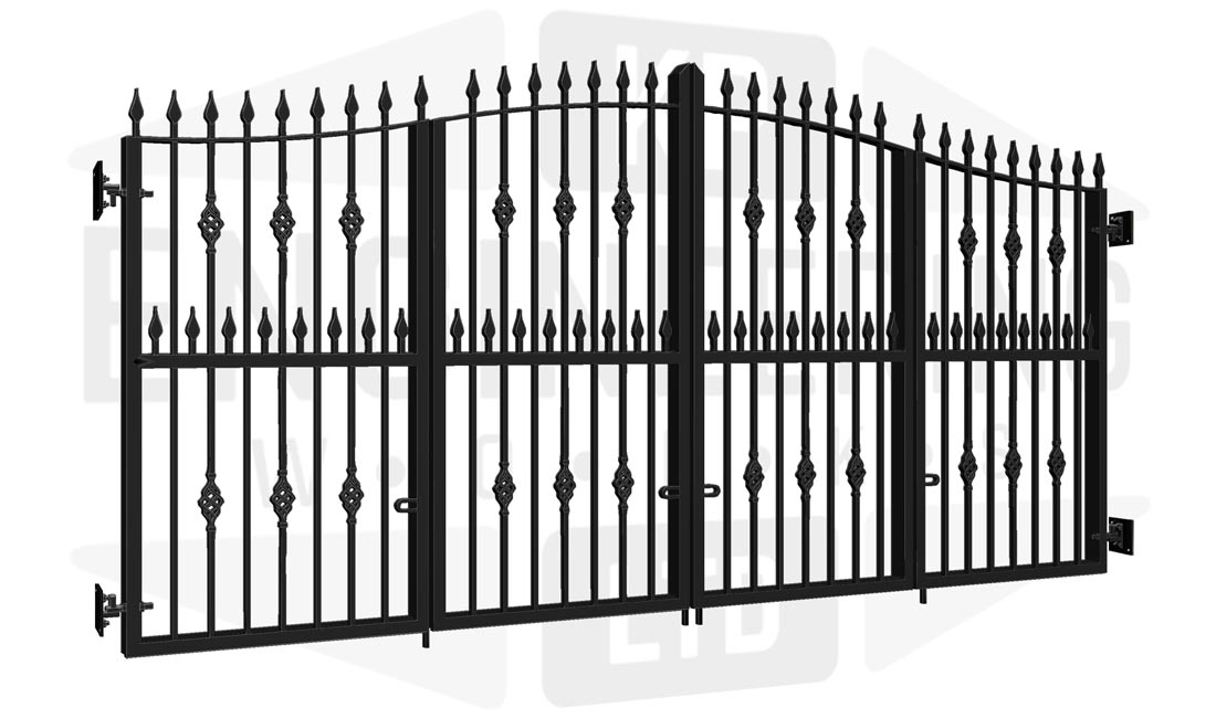 TEMPLE Bi-Fold Tall Gate
