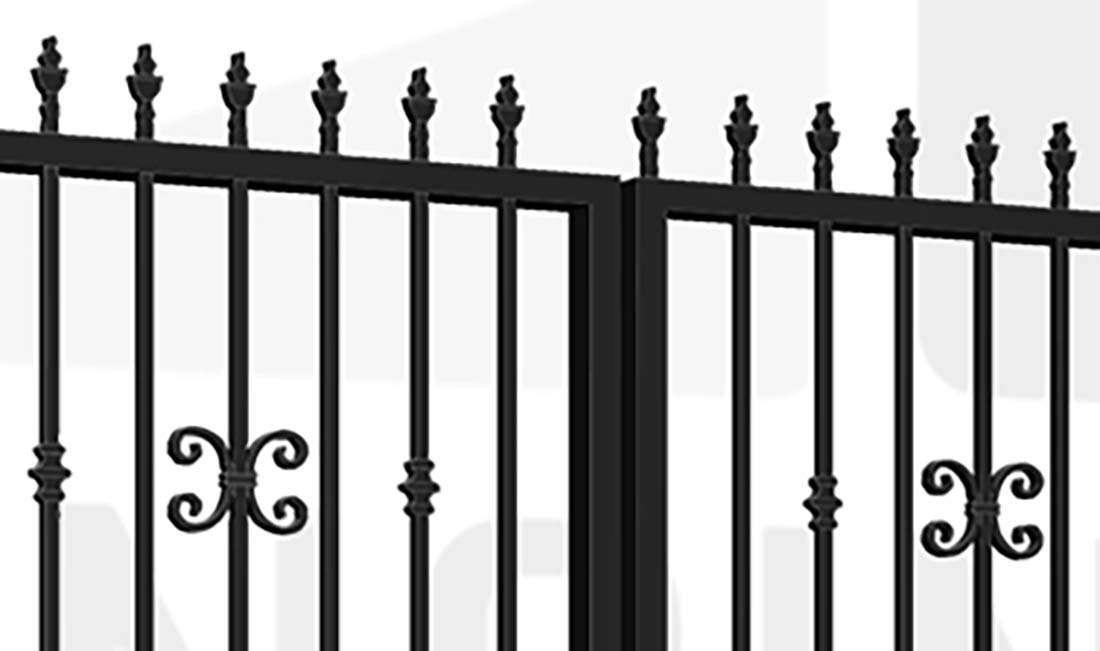 STRATFORD Bi-Fold Tall Gate