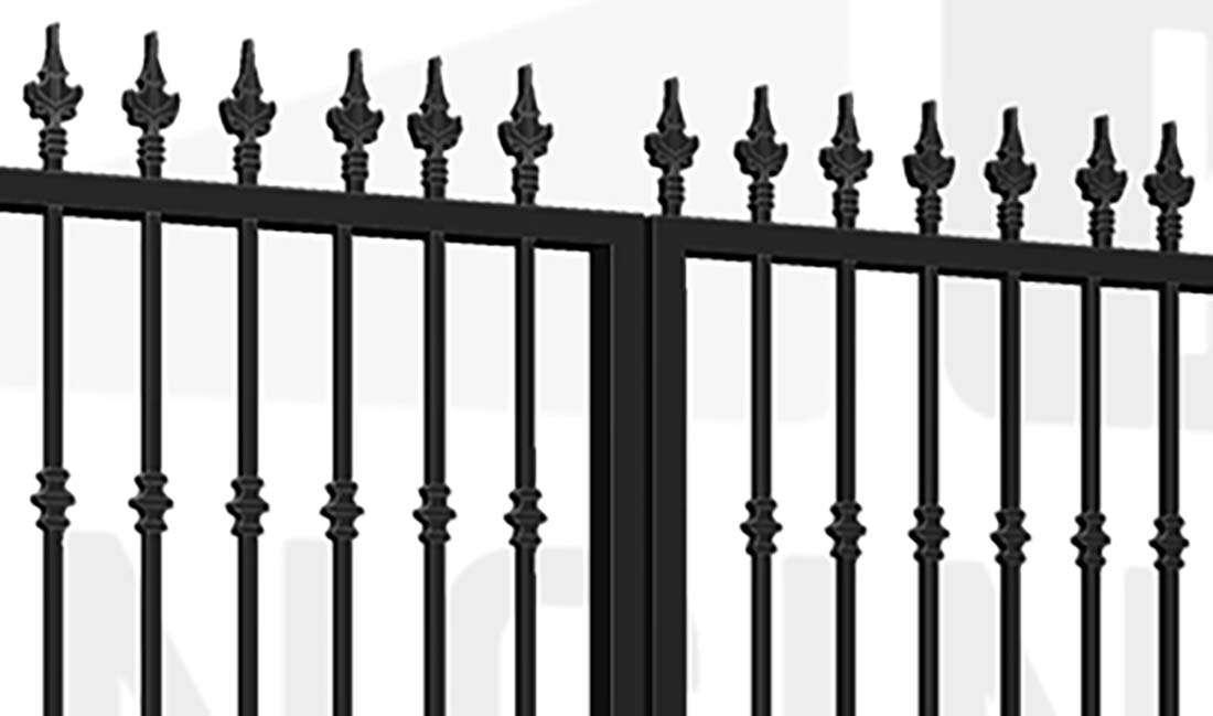 FULHAM Bi-Fold Tall Gate