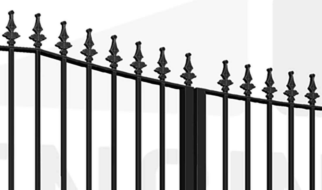 KEW Bi-Fold Tall Gate