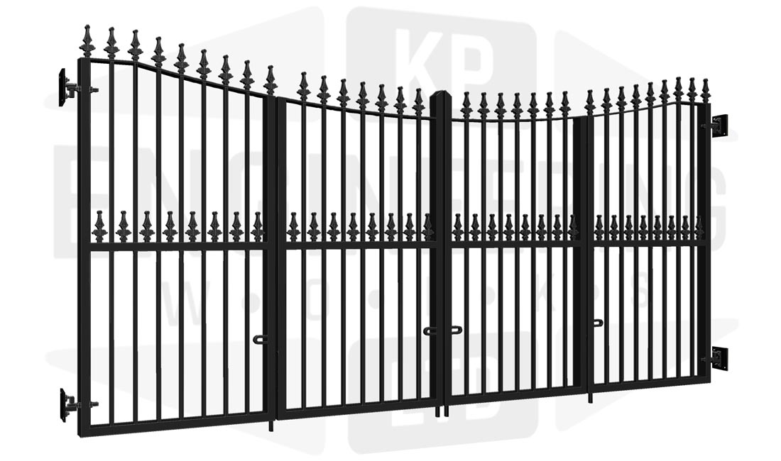 KEW Bi-Fold Tall Gate