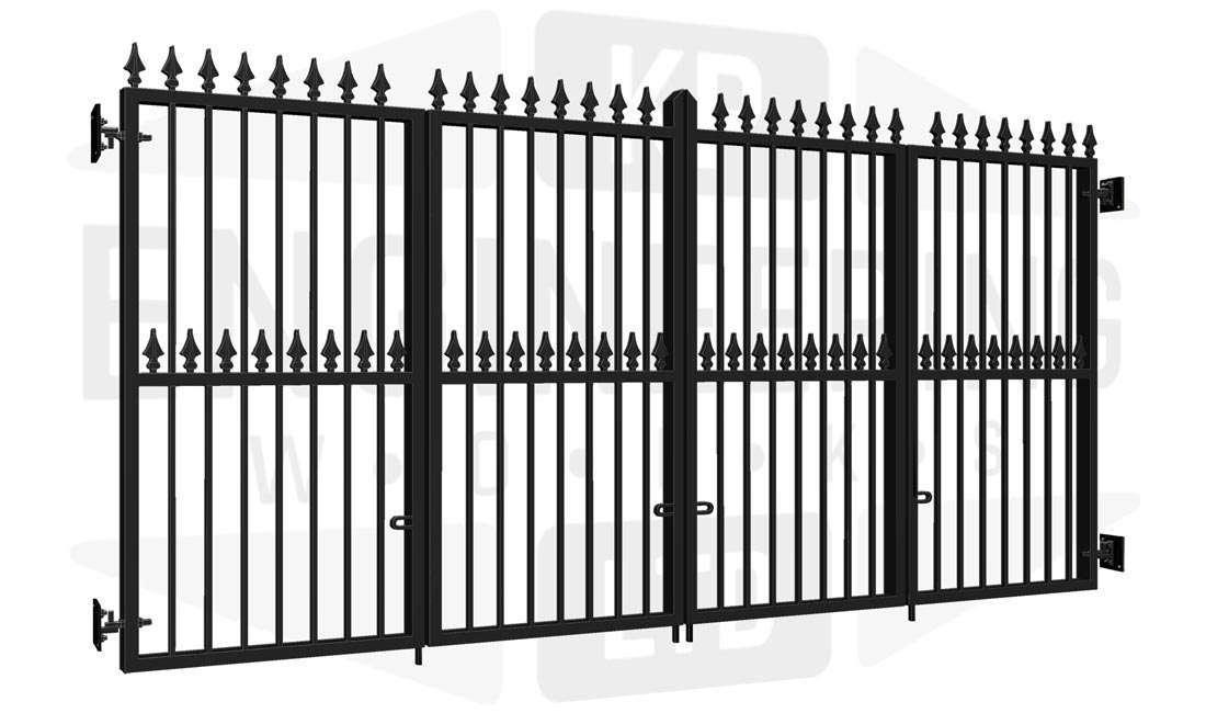 CAMDEN Bi-Fold Tall Gate