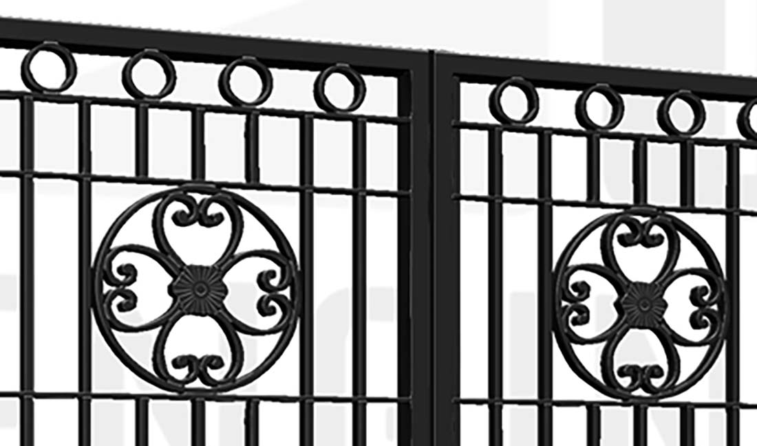 TWICKENAM Bi-Fold Tall Gate