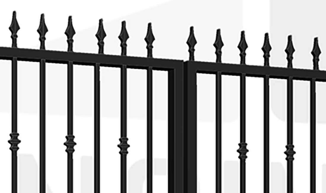 WHITECHAPEL Bi-Fold Tall Gate