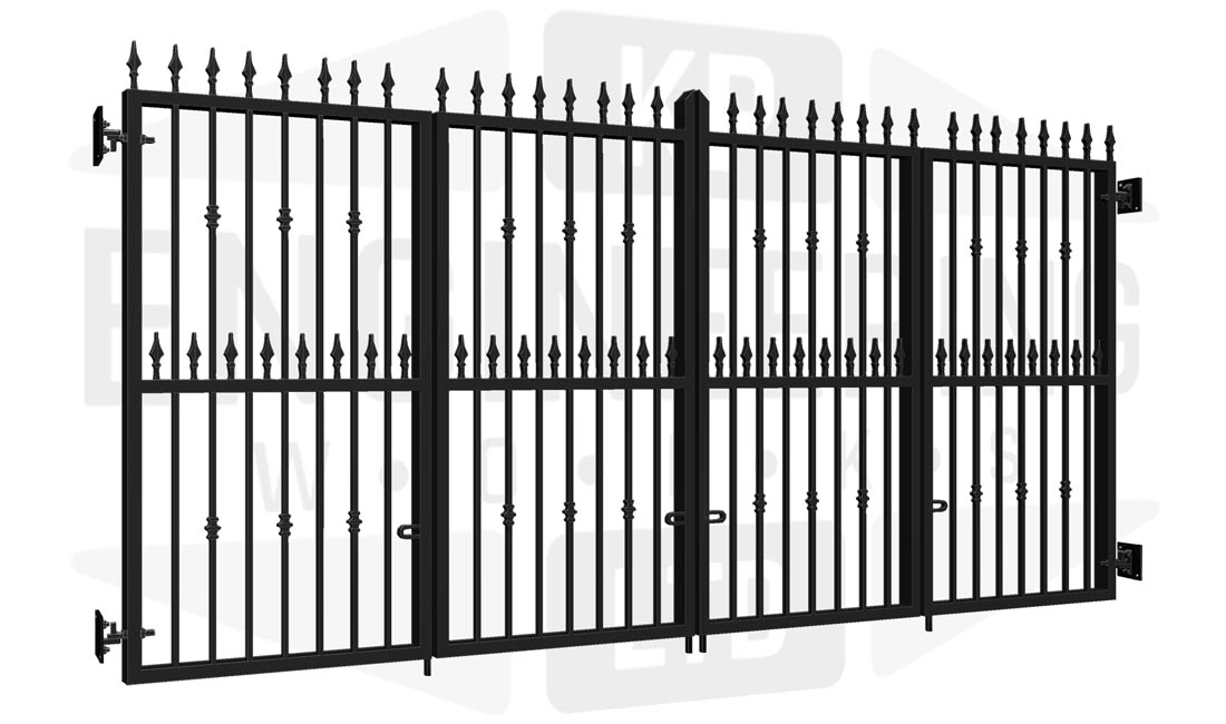 WHITECHAPEL Bi-Fold Tall Gate