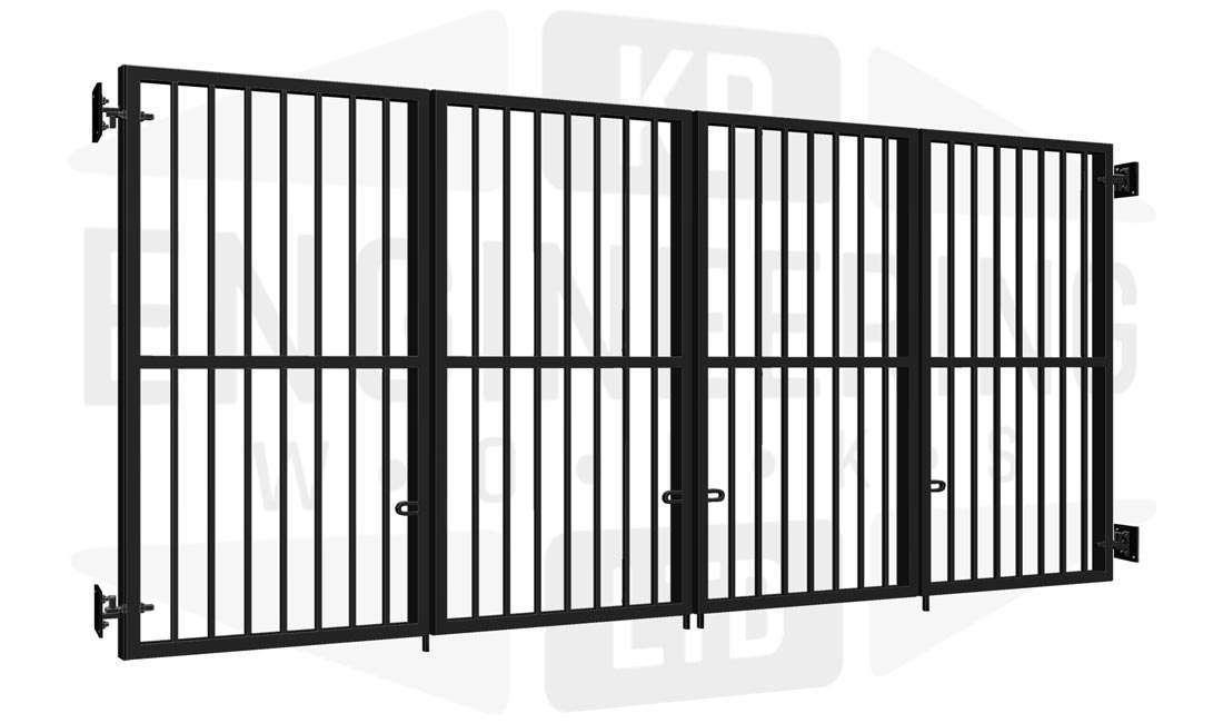 TOTTENHAM Bi-Fold Tall Gate