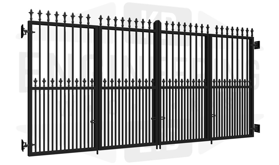 RICHMOND Bi-Fold Tall Gate