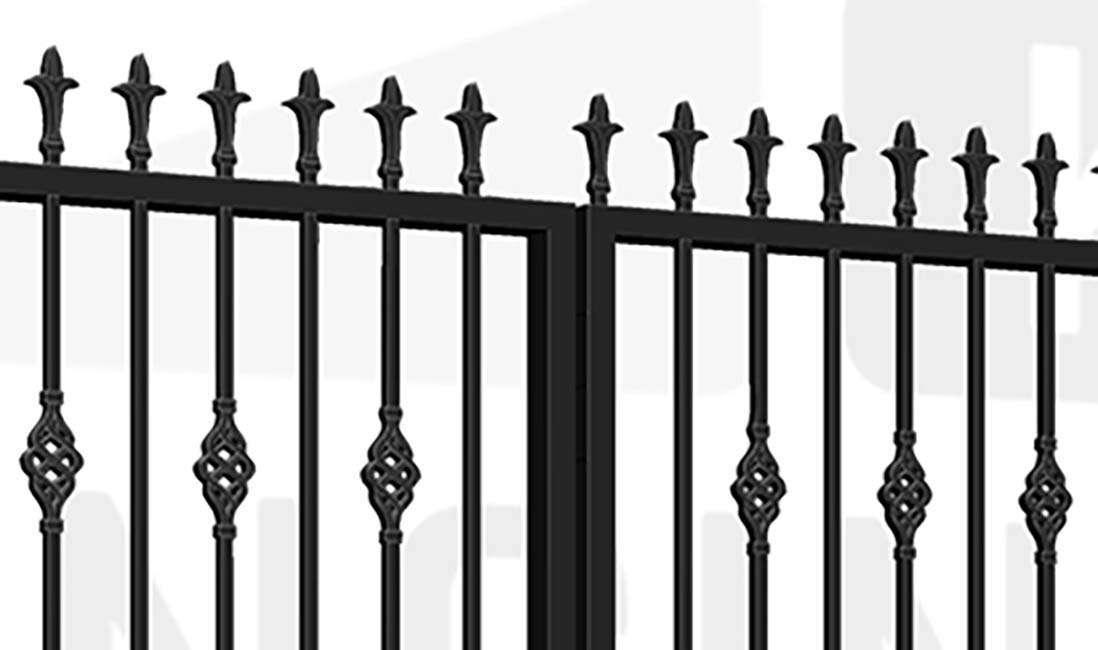 CAMBERWELL Bi-Fold Tall Gate