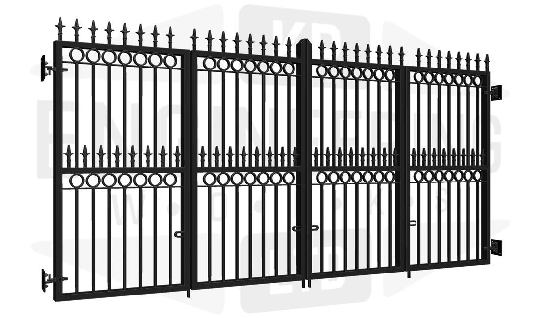 BRIXTON Wall Bi-Fold Tall Gate