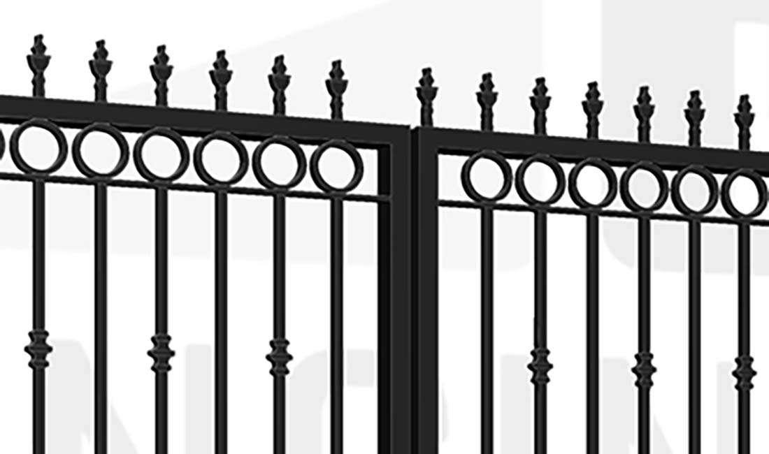 GREENWICH Bi-Fold Tall Gate