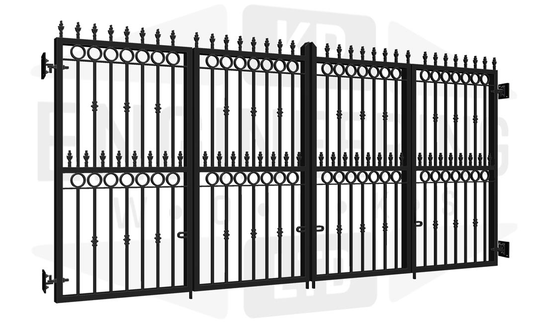 GREENWICH Bi-Fold Tall Gate