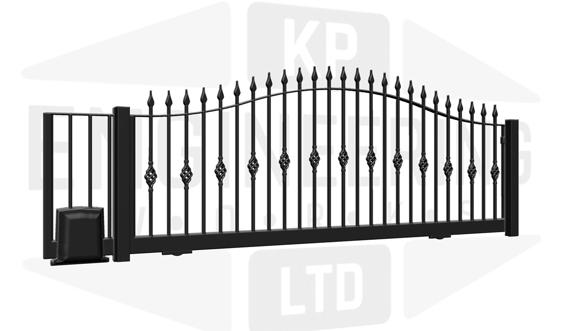 TEMPLE Sliding Short Gate
