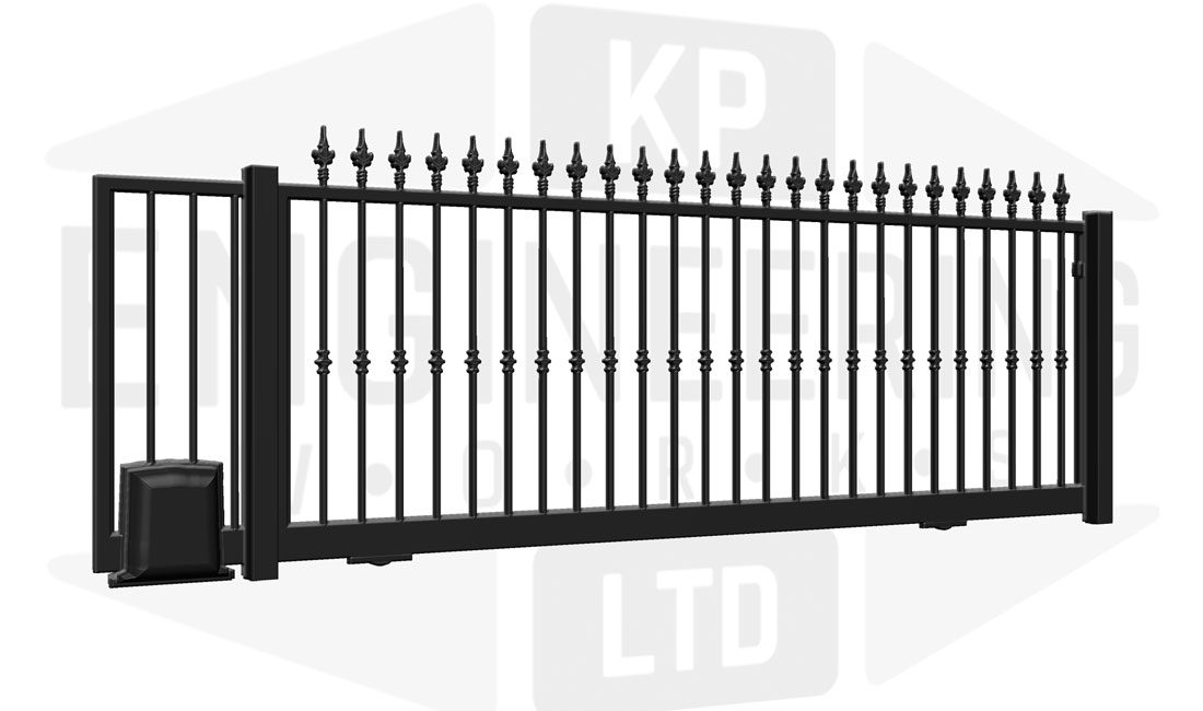 FULHAM Sliding Short Gate