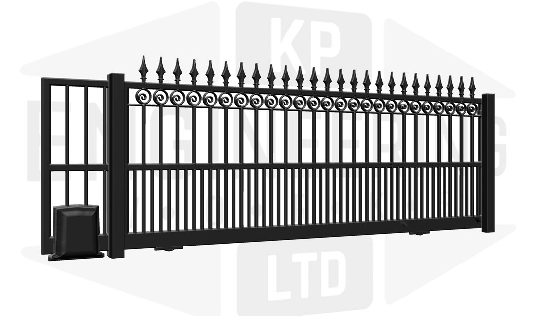 MAYFAIR Sliding Short Gate