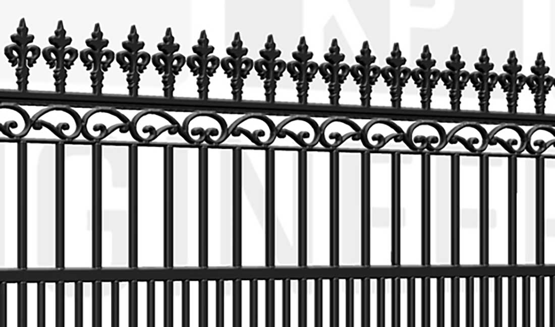 MARYLEBONE Sliding Short Gate