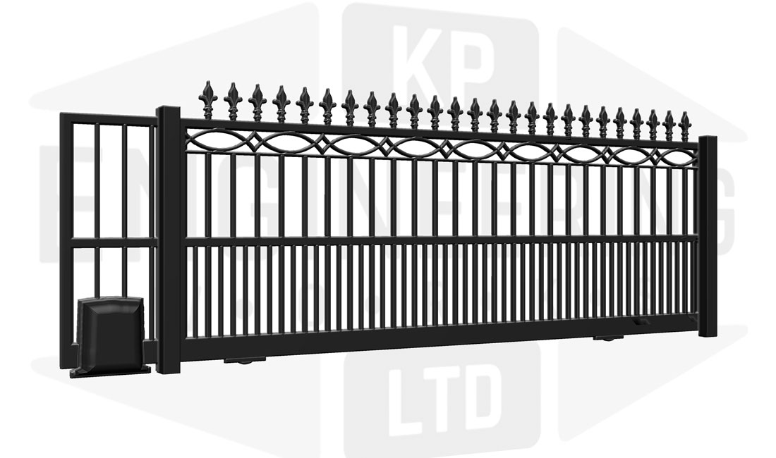 MAIDA VALE Sliding Short Gate