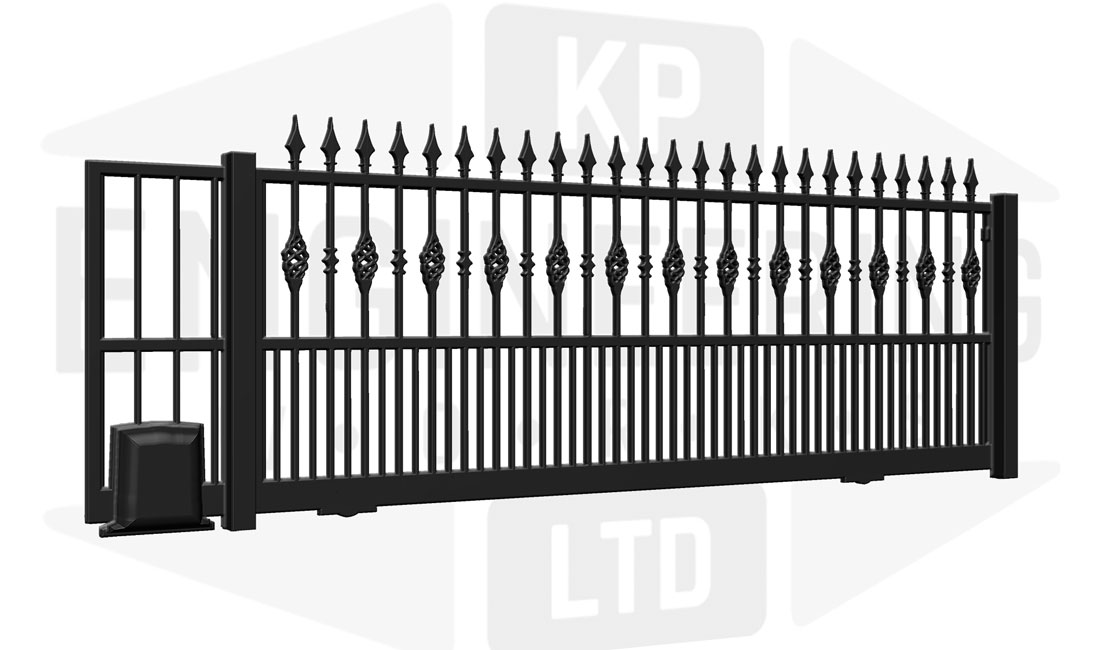 BELGRAVIA Sliding Short Gate