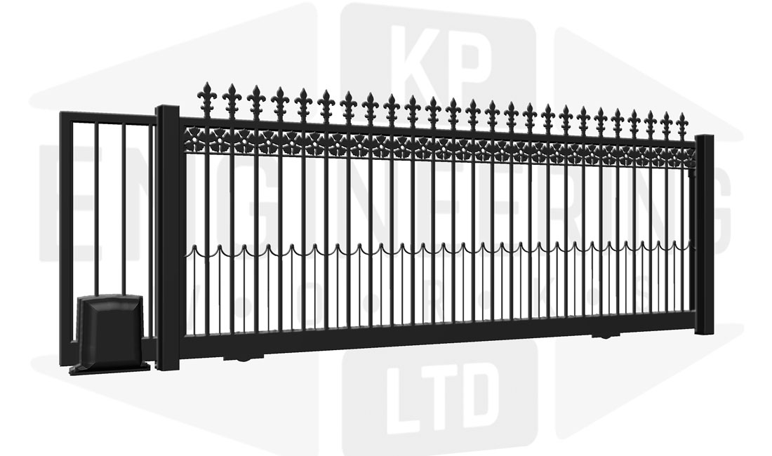 KNIGHTSBRIDGE Sliding Short Gate