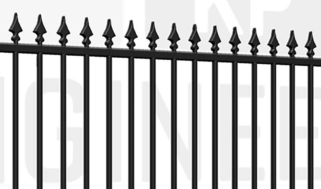 FINCHLEY Sliding Short Gate