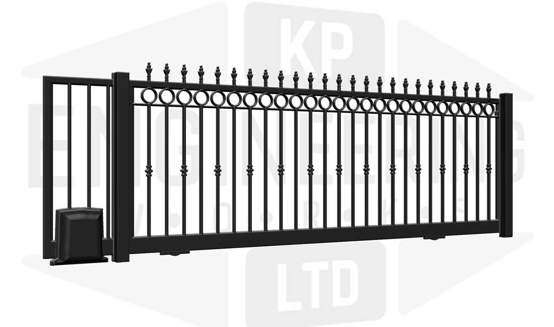 GREENWICH Sliding Short Gate