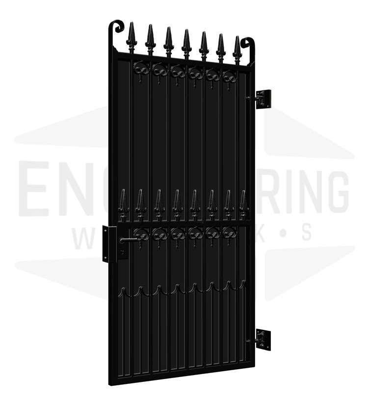 BANKSIDE Side Gate Backing Sheet