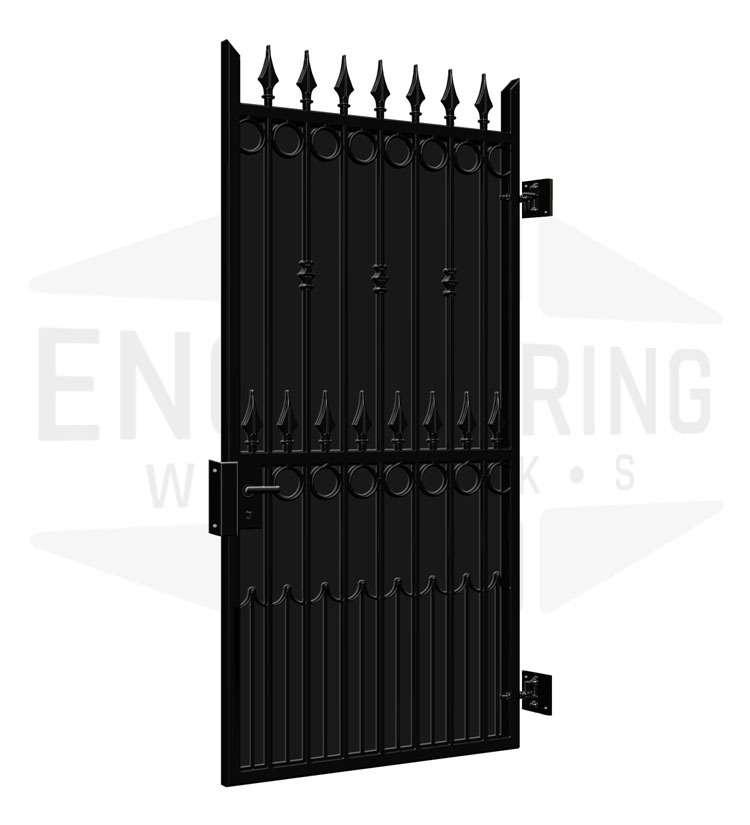 COVENT GARDEN Side Gate Backing Sheet
