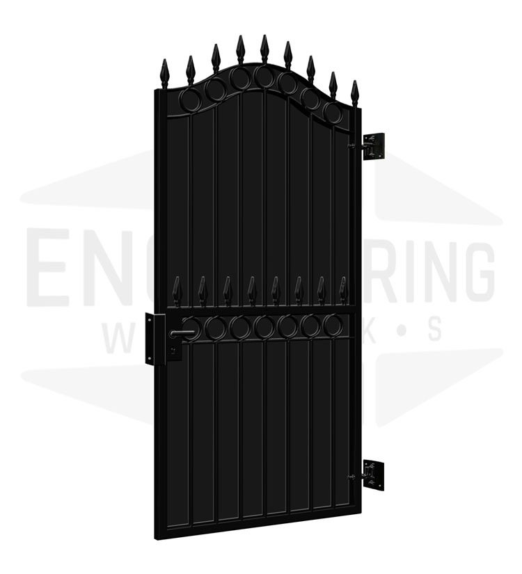 SHOREDITCH Side Gate Backing Sheet