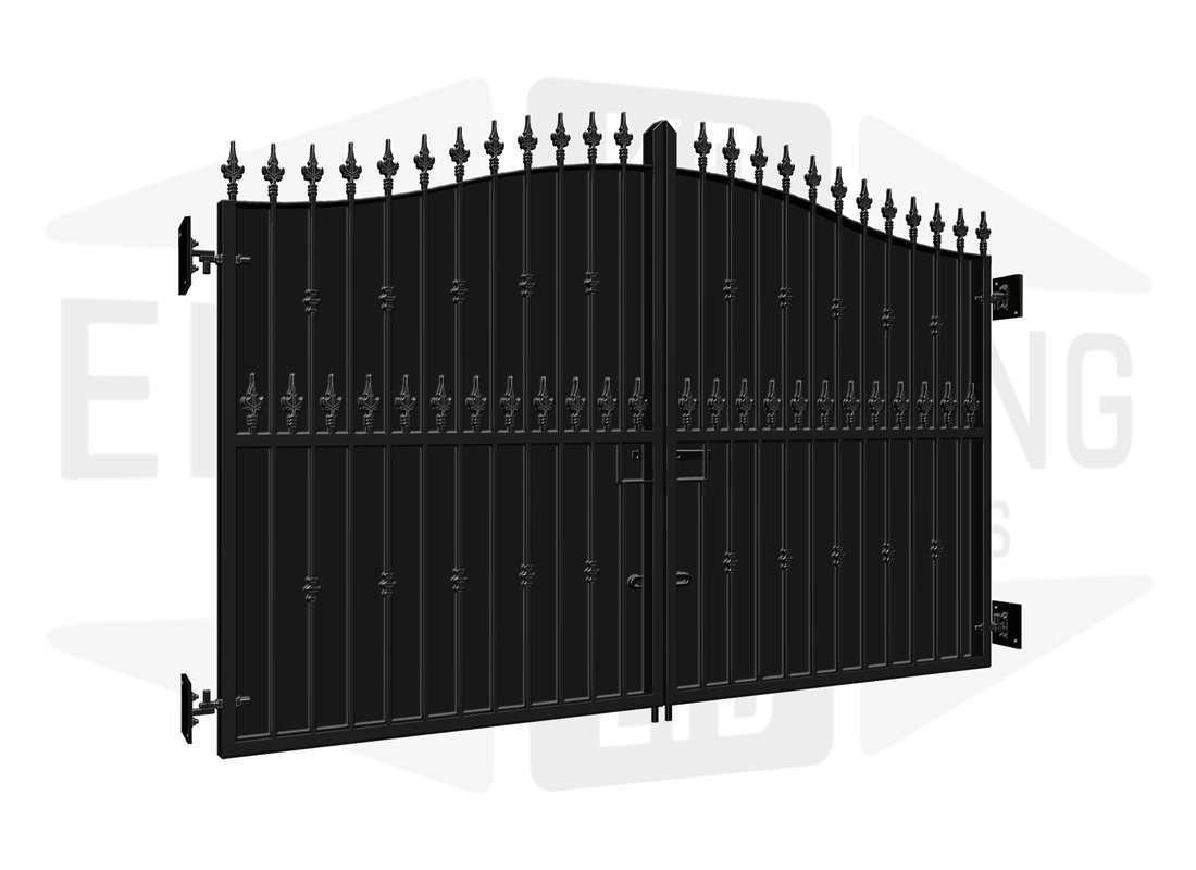 HIGHGATE Estate Gates Backing Sheet