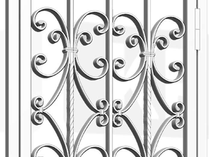 KINGSBURY Security Gate