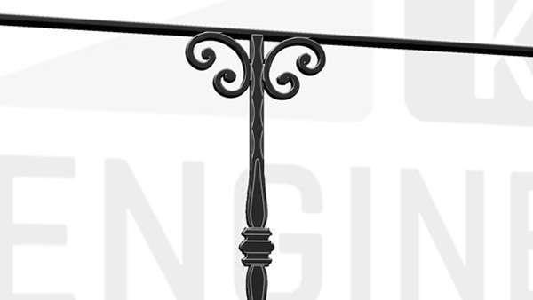 KINGSTON Terrace Railing Handrail