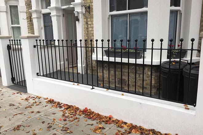 metal railings and iron gates for Highbury N5