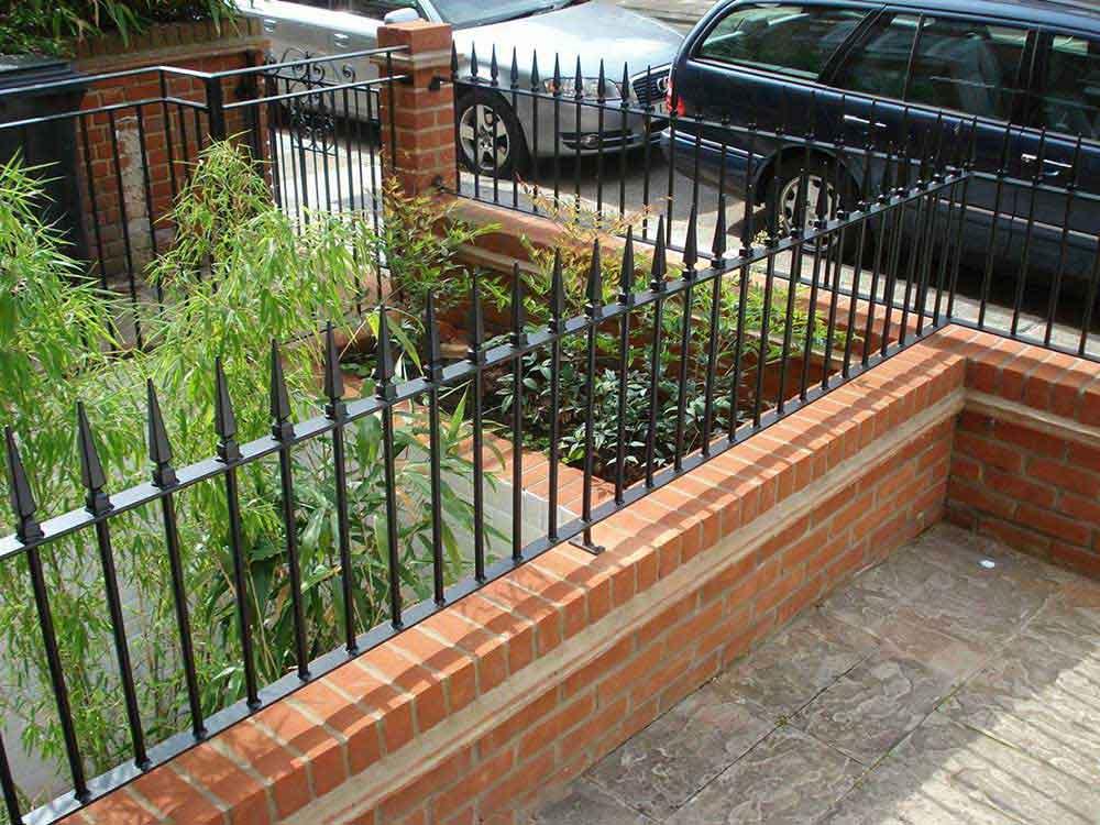 railings and metal gates