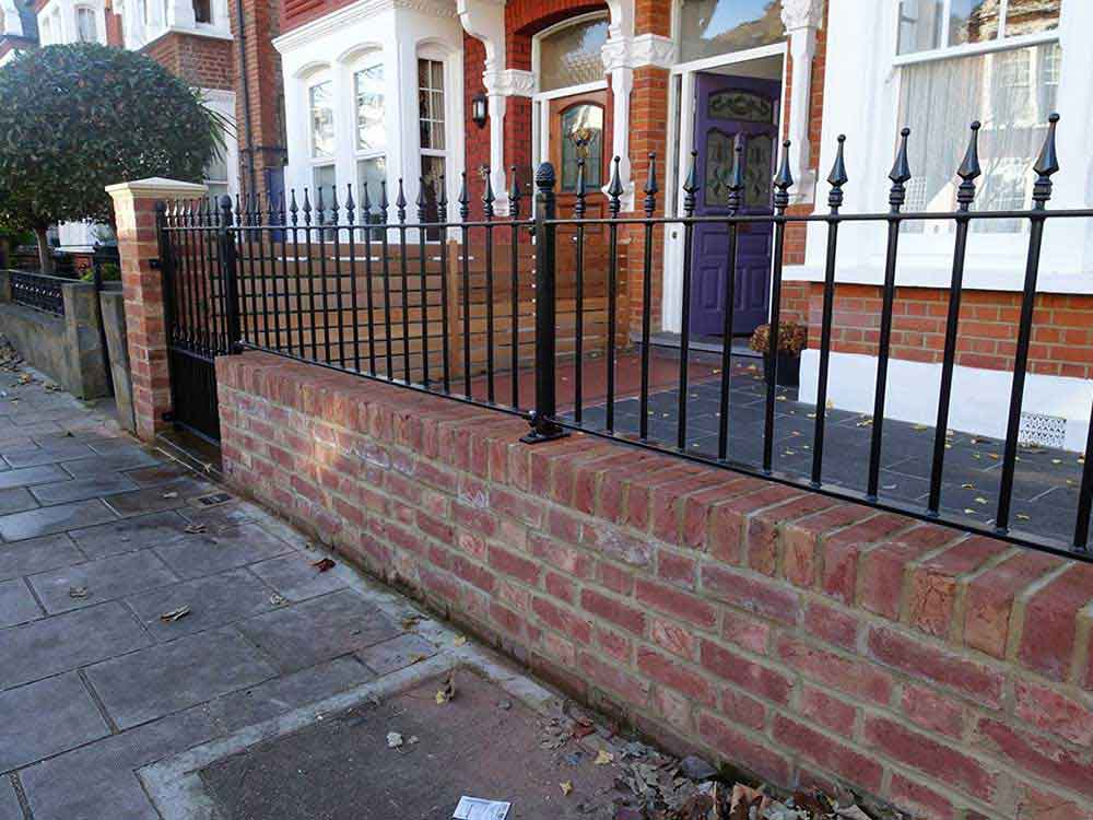 metal railings and gates